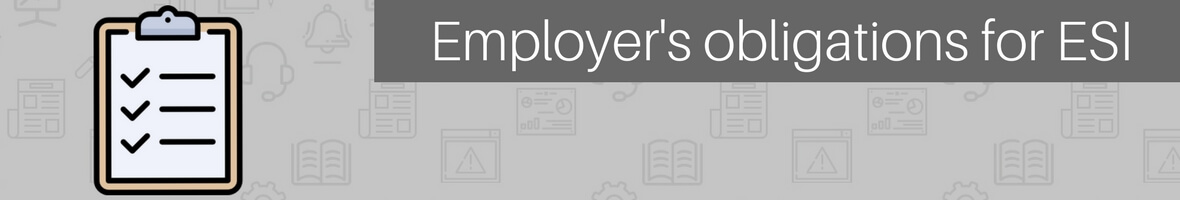 ESI rules for employers