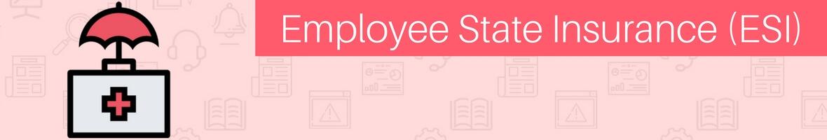 Employee State Insurance or ESI