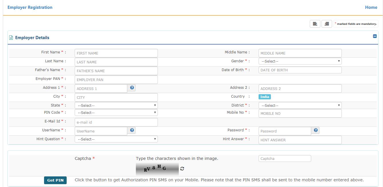 PF online registration 4