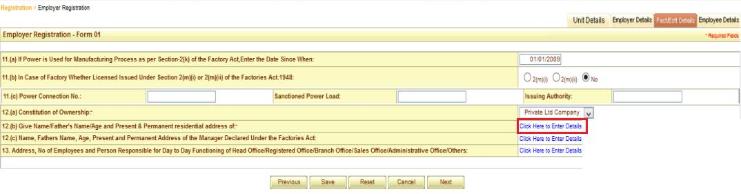 ESI registration procedure 10