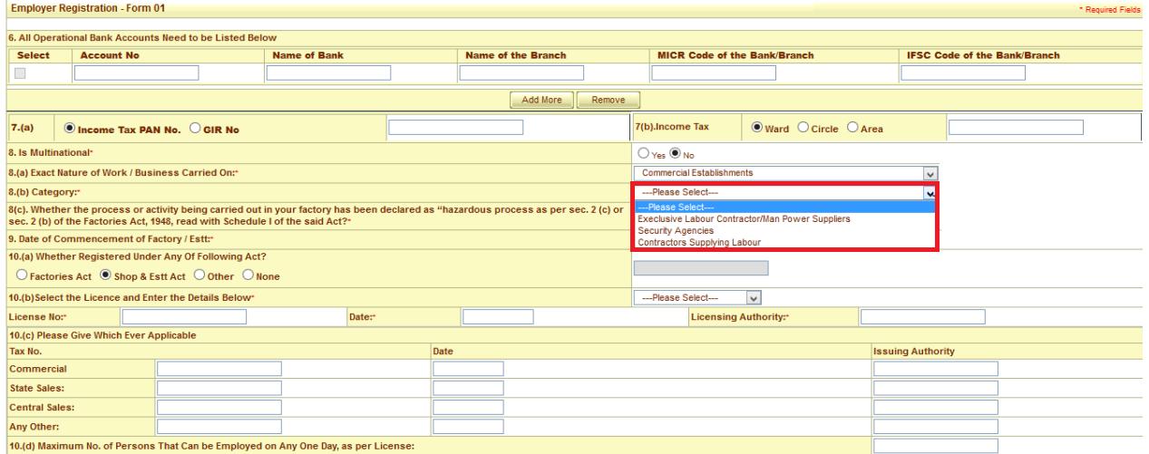 ESI registration procedure 6