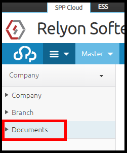 Branch details in Saral PayPack Cloud 7