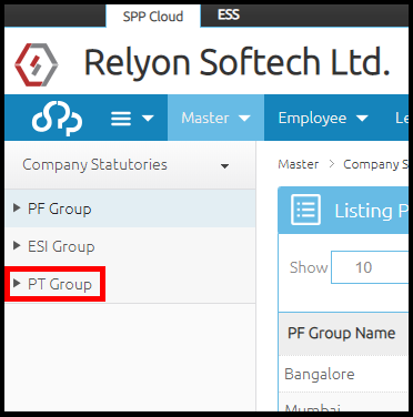 Company details and settings in Saral PayPack Cloud 12