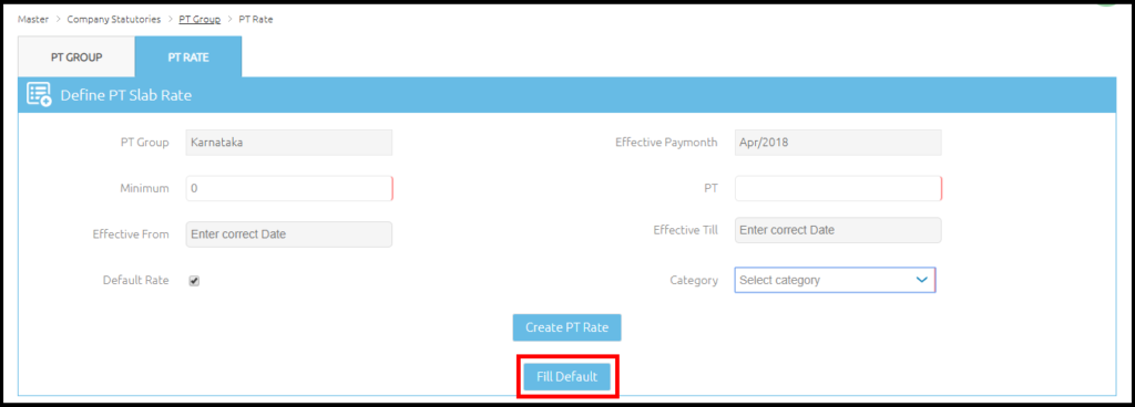 Company details and settings in Saral PayPack Cloud 16