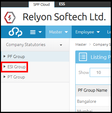Company details and settings in Saral PayPack Cloud 8