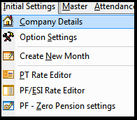 Company creation and Master settings in Saral PayPack 5
