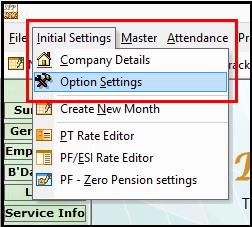 1.Reimbursement module in Saral PayPack-Option settings