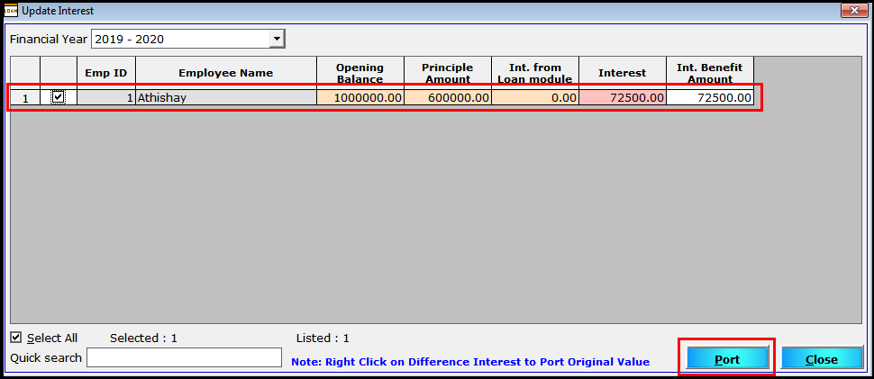 More Employee Details in Saral Pay Pack 12- port for TDS calculation