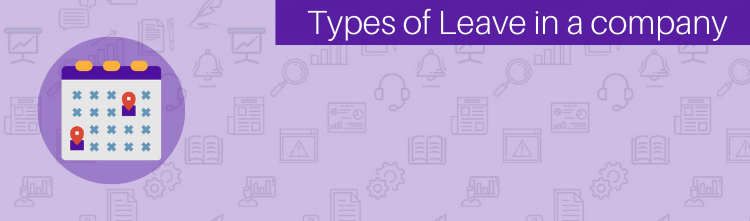 Types of leave in the Company | Leaves, non-leaves and holidays